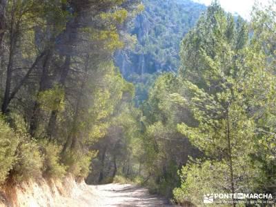 Hundido de Armallones - Alto Tajo; senderismo con imaginación; grupos pequeños;asociacion de monta